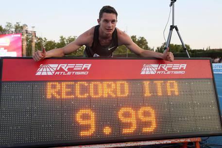 Tortu 9.99 record italiano 100 metri