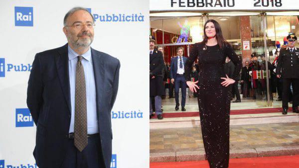 Laura Pausini attaccata dal presentatore Bernardini si infuria