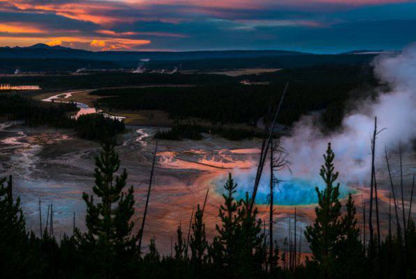 lago di yellowstone