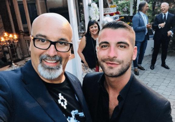 """Giovani Ciacci si sposa con Damiano, """"Matrimonio"""" a Napoli"""