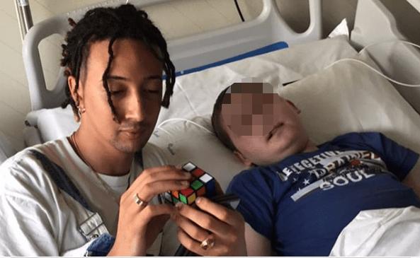 Ghali commosso per Ledio, il piccolo fan morto a 11 anni