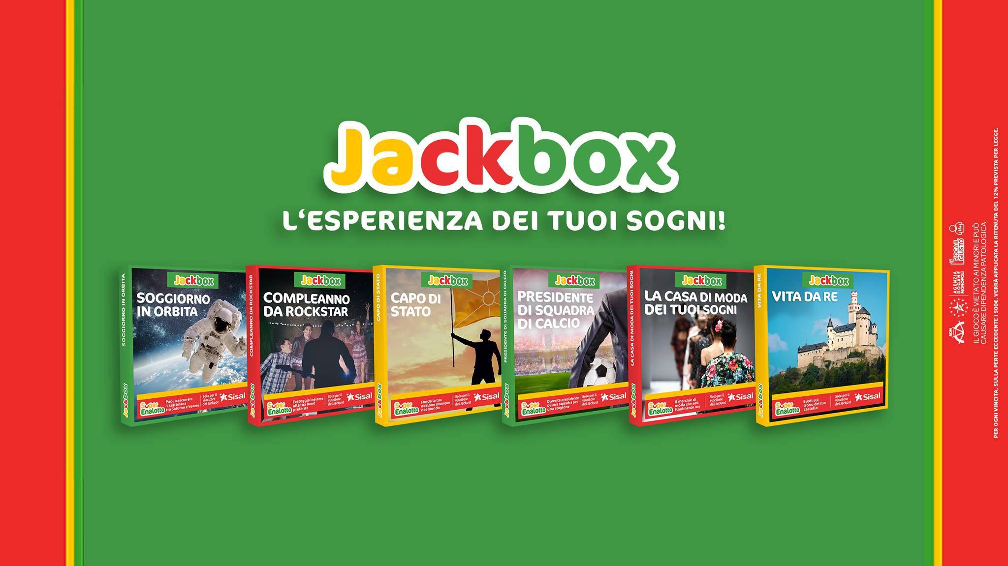 Jackbox: l\'Esperienza dei tuoi sogni! di SuperEnalotto ti ...