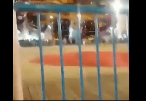 Terrore al luna park: il momento in cui la ruota della giostra si stacca - VIDEO
