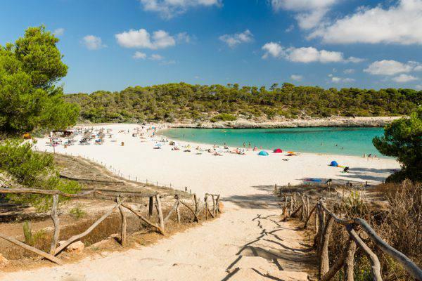 spiaggia Cala Mondrago