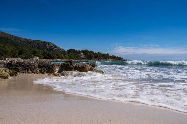 spiaggia di Cala Agulla