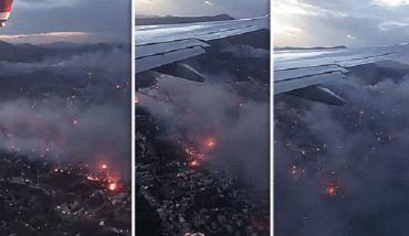 incendi in Greci