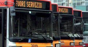 sciopero bus roma