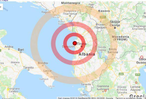 Terremoto in Adriatico: paura anche a Lecce, Brindisi e Bari