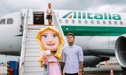 Ferragnez, Bufera per il volo Alitalia brandizzato: ecco cosa è successo