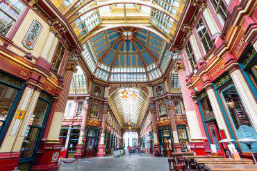 Leadenhall-Market-londra-mercato-coperto-harry-potter