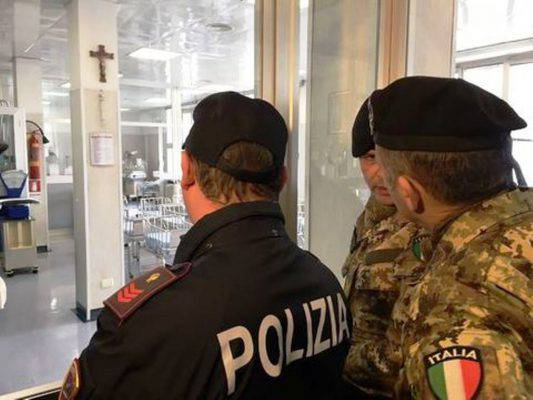 militari ospedale