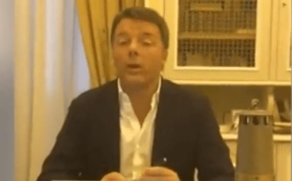 """Renzi fa gli auguri agli italiani, poi pronostica: """"Presto toccherà di nuovo a noi"""" - Video"""