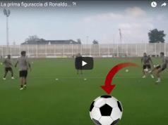 Douglas Costa e Dyabala Deridono Cristiano Ronaldo per un errore in allenamento