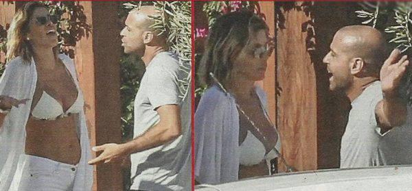 """Aida Yespica, lite furiosa col fidanzato: """"Io sul traghetto non ci salgo"""""""