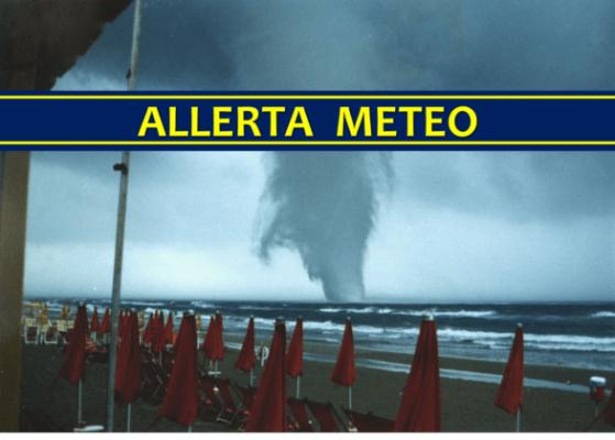 Allerta Meteo centro sud italia 22 e 23 agosto 2018