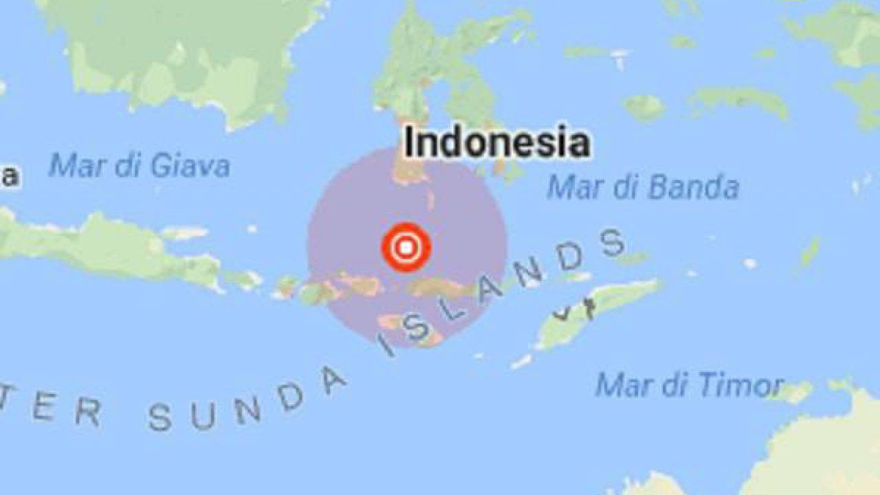 Cartina Indonesia Dettagliata.Terremoto Magnitudo 6 3 Indonesia La Mappa Del Sisma