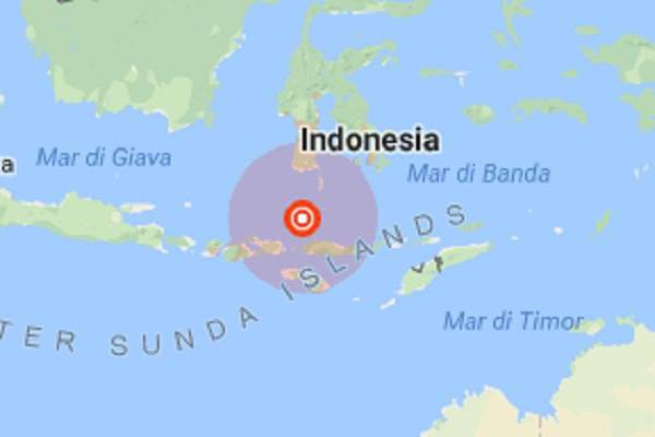 Terremoto Indonesia, nuova scossa di magnitudo 6.3 sull'isola di Lombok
