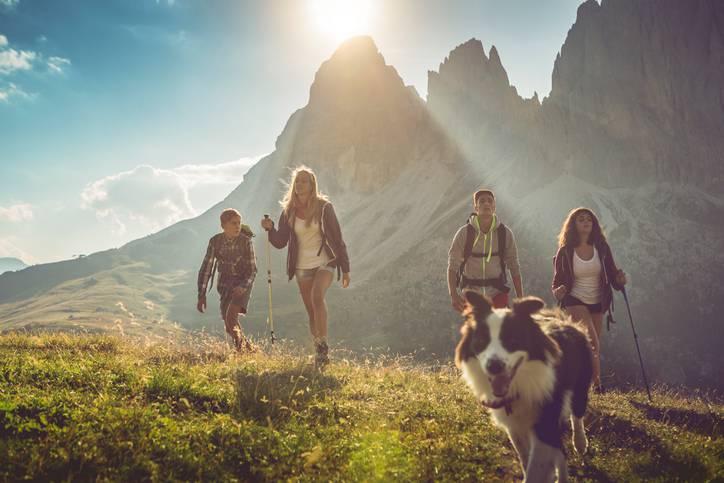 montagna bambini italia 2020