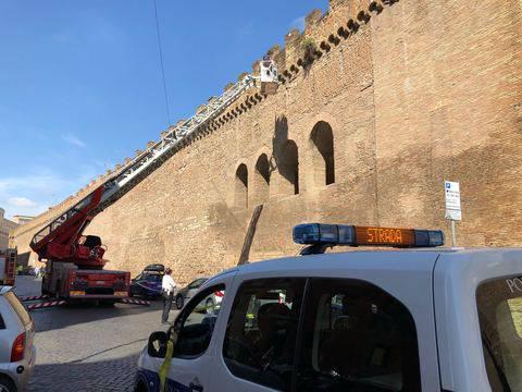 Crollo al Passetto di Borgo, Roma