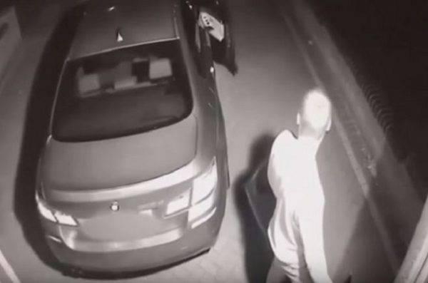 ladro auto