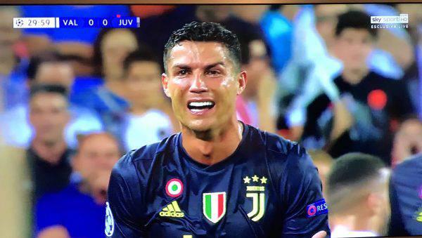 Cristiano Ronaldo Espulso