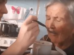 Nonna con l'Alzheimer