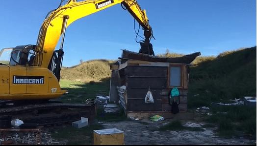 Baracche rom abusive