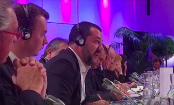 Salvini contro ministro immigrazionista: