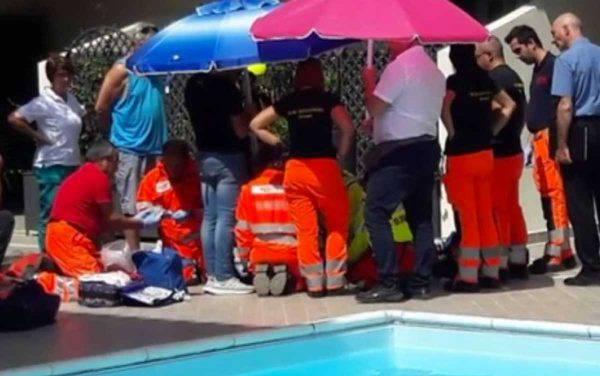 Richard, morto risucchiato dal bocchettone della piscina: si indaga per omicidio colposo