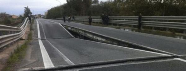 Crollo Ponte, impedito il transito ai tir sopra le 7,5 tonnellate sul viadotto Allaro