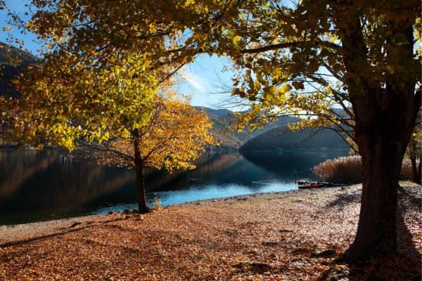 ottobre al lago