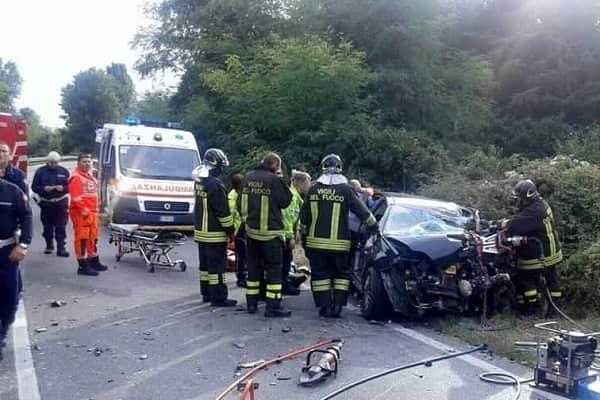 Monti Lepini muore donna incidente