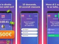 Live Quiz App per vincere soldi veri