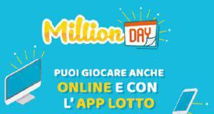 Million Day sabato 1 dicembre