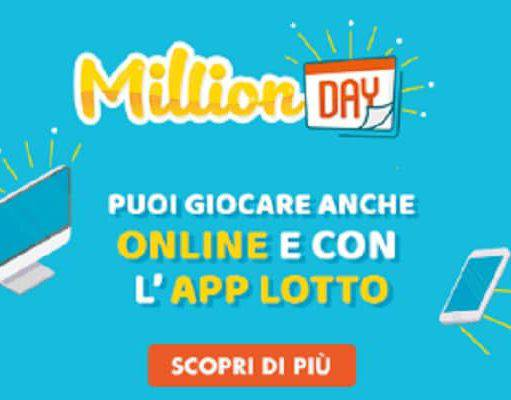 Million Day sabato 1 dicembre