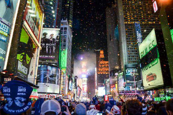 Capodanno 2019 a new york
