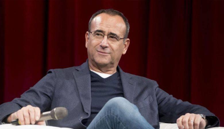 Carlo Conti a Mediaset nel 2019