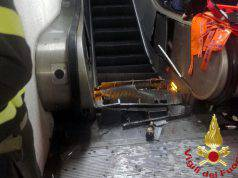 incidente metro roma