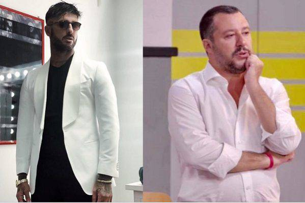 Fabrizio Corona Matteo Salvini