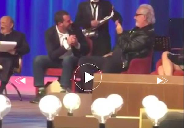 Salvini Albachiara Costanzo Show