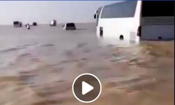 alluvione arabia