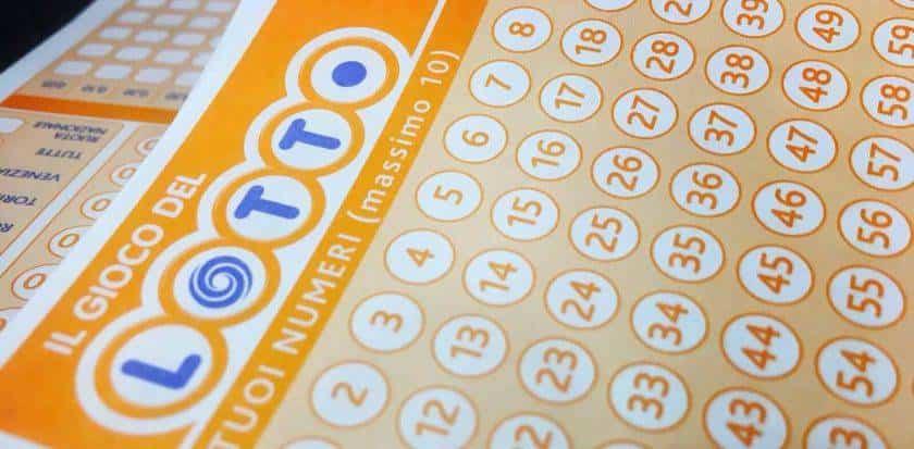 Estrazione del Lotto vincite