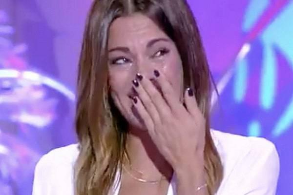 Bianca Guaccero lacrime
