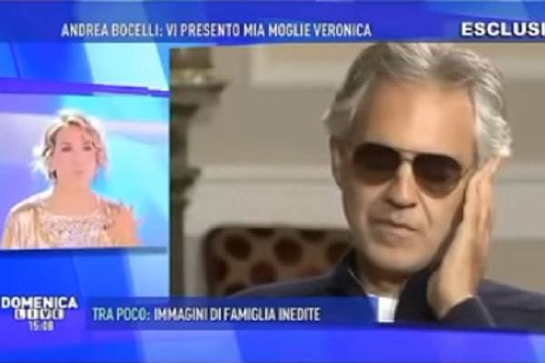 Bocelli primo in hit parade Usa e GB
