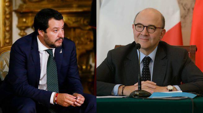 Braccio di ferro Italia Europa