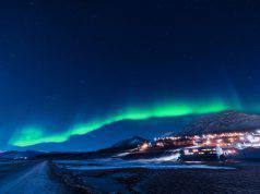 notte polare svalbard