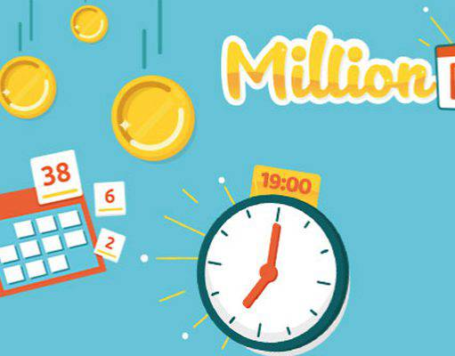 million-day estrazioni del 16 novembre 2018