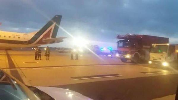 Tragedia sul volo New York-Roma