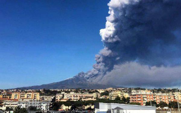 etna terremoto eruzioni