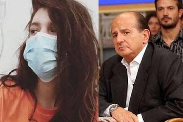 Giancarlo Magalli, la figlia in ospedale: